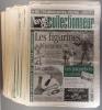La vie du collectionneur. Série incomplète de 55 numéros entre les numéros 253 et 313. De janvier 1999 à mars 2000.. LA VIE DU COLLECTIONNEUR ...