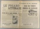 Le Figaro littéraire N° 154. Julien Green - Dominique Arban. -Suite des souvenirs de Mme Neumann…. LE FIGARO LITTERAIRE