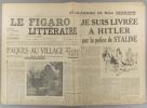 Le Figaro littéraire N° 156. Jean Duché - Sur Apollinaire - Suite des souvenirs de Mme Neumann…. LE FIGARO LITTERAIRE