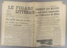 Le Figaro littéraire N° 185. Paul Guth - Gilbert Prouteau - Les Russes et Hitler…. LE FIGARO LITTERAIRE