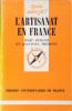 L'artisanat en France.. DURAND Marc - FREMONT Jean-Paul