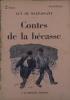 Contes de la bécasse.. MAUPASSANT Guy de Couverture illustrée par Renefer.