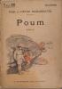 Poum. Roman.. MARGUERITTE Paul et Victor Couverture illustrée par Georges Redon.