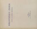 Livres illustrés modernes. Vente à l'Hôtel Drouot à Paris, de 338 ouvrages.. BIBLIOTHEQUE ZIERER 16 planches hors-texte.
