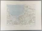 Les bouches de la Vistule et le Frische Haff. Carte en couleurs extraite de la Géographie universelle d'Elisée Reclus.. MER BALTIQUE Carte de ...