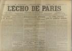 L'écho de Paris. N° 11405 du 6 novembre 1915.. L'ECHO DE PARIS Dessin d'Abel Faivre à la une.
