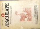 Aesculape 1937 : Numéro 6. Plusieurs articles sur l'ophtalmologie dans l'art…. AESCULAPE 1937