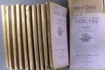 Mercure de France, 2e semestre 1917 : 28e année incomplète, 12 numéros, du 1er juillet au 16 décembre 1917. Du numéro 457 au numéro 468.. MERCURE DE ...