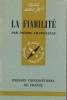 La fiabilité.. CHAPOUILLE Pierre