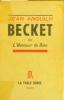 Becket ou l'honneur de Dieu.. ANOUILH Jean