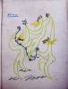 L'affront lavé - La mort sur les lèvres. (Théâtre).. ECHEGARAY José Illustrations de Grau-Sala. Reliure ornée d'un dessin original de Picasso.