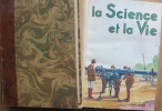 La science et la vie. Année 1939 complète. Numéros 259 à 270. Les couvertures en couleurs sont conservées.. LA SCIENCE ET LA VIE 1939