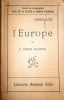 L'Europe. Cours de géographie P. Vidal de La Blache et P. Camena d'Almeida tome 3 (4e A et B).. CAMENA D'ALMEIDA P.