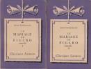 Le mariage de Figaro (I et II). Comédie. Notice biographique, notice historique et littéraire, notes explicatives, jugements, questionnaire sur la ...