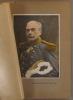 Général de Langle de Cary. Gravure colorisée extraite de l'histoire illustrée de la guerre du droit, d'Emile Hinzelin.. LANGLE DE CARY (Général)