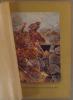 Charge des lanciers anglais à la bataille de Mons. Gravure colorisée extraite de l'histoire illustrée de la guerre du droit, d'Emile Hinzelin.. MONS
