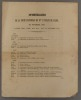 Itinéraire de la visite pastorale de Monseigneur l'évêque de Luçon, en novembre 1846, janvier, mars, avril, mai, juin, août et septembre 1847.. ...
