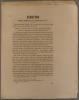 Indictio synodi dioecesanae Lucionensis VII (Annonce en latin de l'acte 7 du synode diocésain ). Suivi de : Avis important au sujet du surplis romain, ...