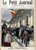 Le Petit journal - Supplément illustré N° 479 : En Belgique : Déroulède acclamé à Tournai (Gravure en première page). Gravure en dernière page : ...