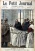 Le Petit journal - Supplément illustré N° 483 : Victime du devoir : Le préfet de police remet la médaille d'or à l'agent Mallet (Gravure en première ...