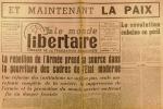 """""""Le Monde libertaire N° 70. Organe de la Fédération anarchiste. Mensuel. Cuba ; Algérie ; La 4e page est une affiche : Au peuple (après le procès des ..."""