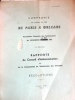 Compagnie du Chemin de Fer de Paris à Orléans. Assemblée générale des actionnaires de 1957.. COMPAGNIE DU CHEMIN DE FER DE PARIS A ORLEANS