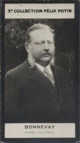 Photographie de la collection Félix Potin (4 x 7,5 cm) représentant : Bonnevay, homme politique.. BONNEVAY (Homme politique) - (Photo de la 3e ...