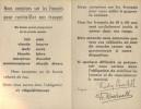 Et nous on leur dir M...! Signé : Cambronne. Tract pro-allemand.. NOUS DEBARQUERONS IRREVOCABLEMENT LE 18 AVRIL 1944