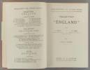 """Collection """"England"""". Tome 3 : Classes de quatrième.. LAFFAY A. - KERST H."""