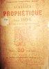Almanach prophétique pour 1896.. ALMANACH PROPHETIQUE 1896