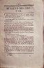 Bulletin des lois. Contient, entre autres, l'ordonnance du Roi relative à la composition des rations en usage dans le département de la marine.(12 ...