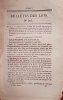 Bulletin des lois. Contient, entre autres, l'ordonnance du Roi( une page) qui autorise l'établissement d'un pont suspendu sur le confluent du ruisseau ...