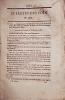 Bulletin des lois. Contient l'ordonnance du Roi qui approuve l'adjudication passée le 26 octobre 1837 pour l'établissement de deux chemins de fer de ...