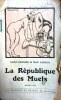 La république des muets. Roman gai.. SAINT-GRANIER - AGHION Max