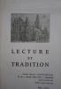 Lecture et Tradition, année 1973 incomplète : N° 40 - 41 - 42 - 44 et 45.. LECTURE ET TRADITION 1973