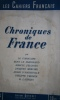Les cahiers français N° 2 : Chroniques de France. Vers 1941.. LES CAHIERS FRANCAIS