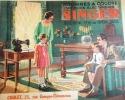 Catalogue de machines à coudre à moteur électrique Singer. Vers 1940.. SINGER
