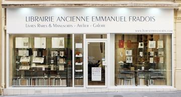 Librairie Ancienne Emmanuel Fradois