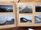 VACANCES 1949. SUISSE ET SAVOIE. 1er étape : Chamonix - Lac Cornu ( 25 juin 1949) 11 photos ;  2ème étape: Lac Cornu - Lac Blanc ( 27 juin 1949 ) 11 ...