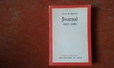 Journal 1955 -1962 . FERAOUN Mouloud
