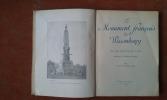 """Le Monument français de Wissembourg. """"Aux soldats français morts pour la Patrie"""" . BONNAL Général (préface de)"""