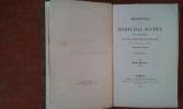 Mémoires du Maréchal Suchet, duc d'Albufera, sur ses campagnes en Espagne, depuis 1808 jusqu'en 1814 ; écrits par lui-même. Tomes 1 et 2 . SUCHET ...