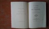 Récits de campagne 1833-1841 publiés par ses fils le Comte de Paris et le Duc de Chartres. . ORLEANS (Duc d')