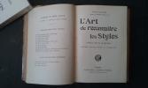 L'Art de reconnaitre les Styles . EMILE-BAYARD