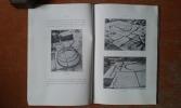 Essai de restitution d'un moulin à huile de l'époque romaine à Madaure (Constantine) . CHRISTOFLE Marcel