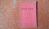 L'Afrique romaine . ALBERTINI Eugène