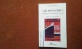 """Exil impossible. L'errance des Juifs du paquebot """"Saint-Louis"""" . AFOUMADO Diane"""