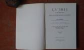 La Brie d'autrefois (Mœurs et coutumes des bords du Grand-Morin) . GRENIER Jules