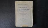 Le prestige de Jean-Jacques Rousseau. Souvenirs - Documents - Anecdotes . BUFFENOIR Hippolyte