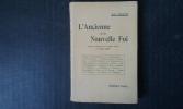 L'Ancienne et la Nouvelle Foi . STRAUSS David-Frédéric